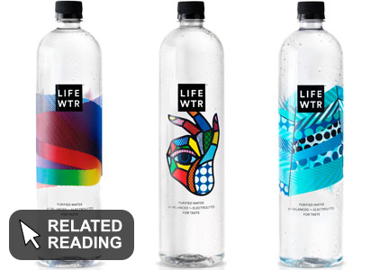 PepsiCo launches premium bottled water