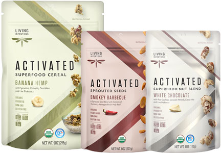 Living Intentions snack products