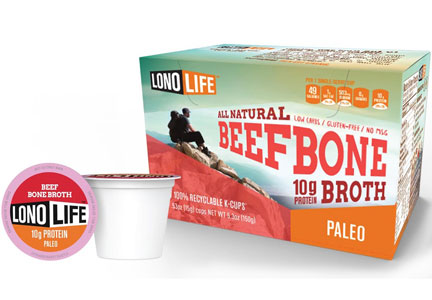 LonoLife beef bone broth K-cups