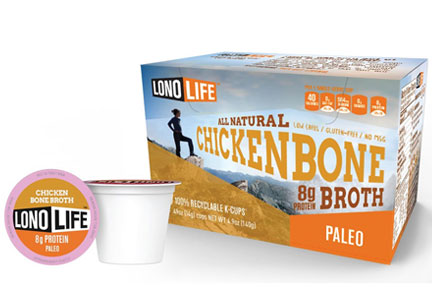 LonoLife chicken bone broth K-cups