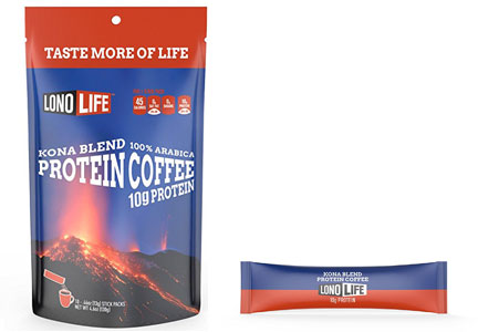 LonoLife protein coffee K-cups