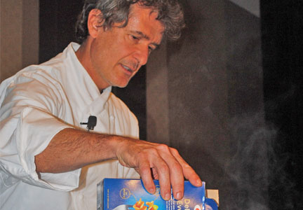 Lorenzo Boni, executive chef for Barilla America