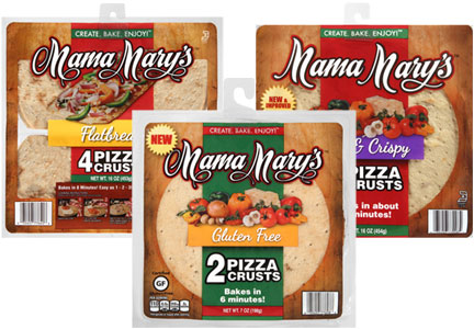 Mama Mary's pizza crusts, B&G Foods