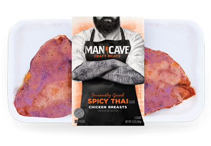 Man Cave Turkey Burgers : Welcome to the man cave food business news july