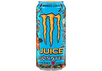 Mango Loco Monster energy drink
