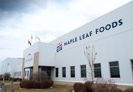 Maple Leaf Foods facility