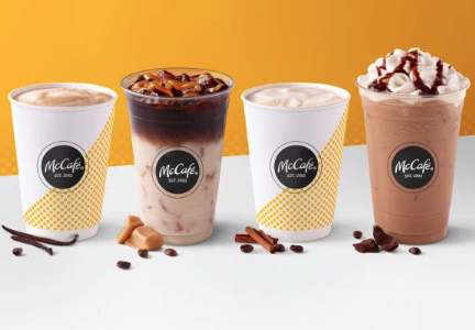 McDonald's McCafe espresso beverages