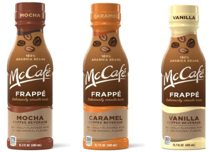 McDonald's McCafe Frappes ready-to-drink