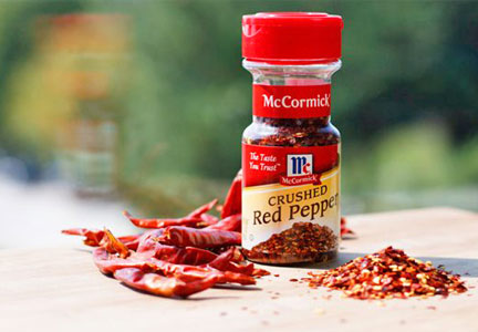 McCormick crushed red pepper spice