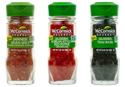 McCormick ethnic spices