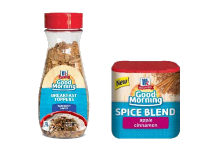 McCormick Good Morning breakfast products