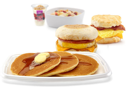 McDonald's all-day breakfast foods