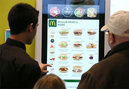 McDonald's Create Your Taste platform