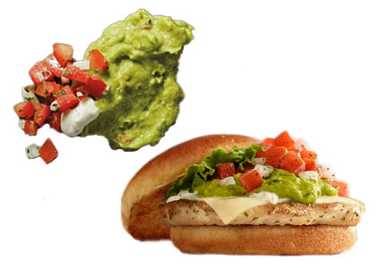 McDonald's Signature Crafted Recipes Pico de Gallo