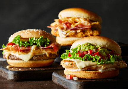 McDonald's signature crafted sandwiches