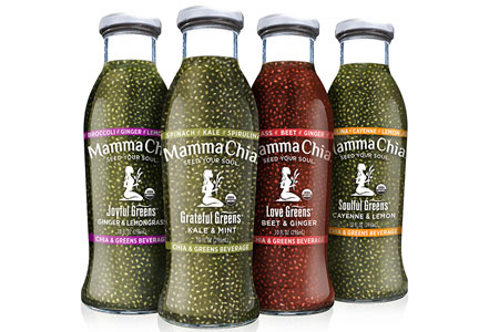 Mamma Chia green beverages