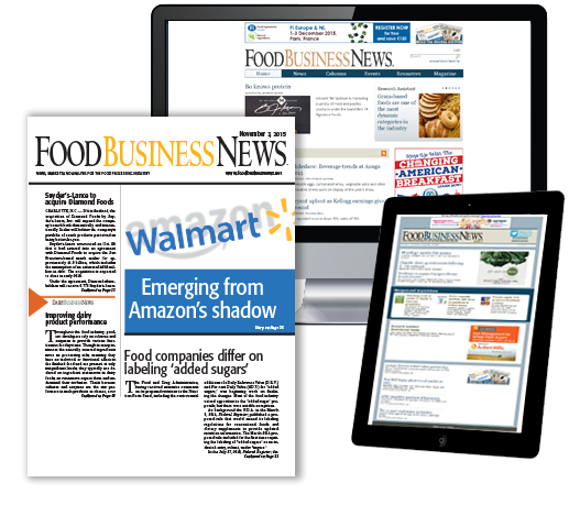 FoodBusinessNews Magazine, E-newsletter and Website