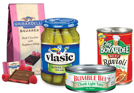 Metropoulos former investments - Ghirardelli, Bumble Bee, Vlasic, Chef Boyardee