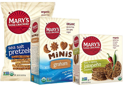 Mary's Gone Crackers products