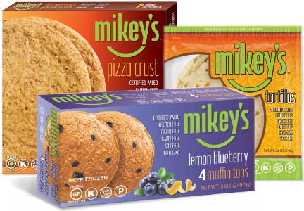 Mikey's gluten-free products