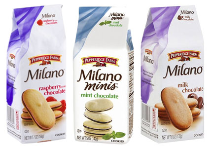Milano Cookies, Campbell