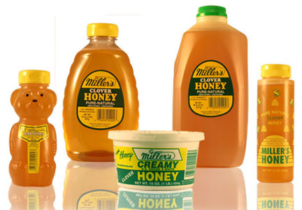 Natural Harvest Miller's honey