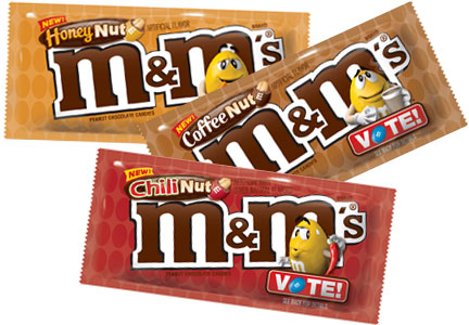 M&M's vote flavors