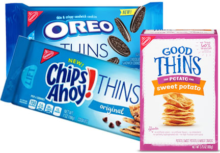 Oreo Thins, Chips Ahoy! Thins, Good Thins, Mondelez