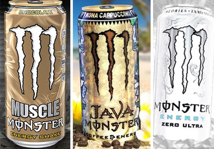 Monster To Roll Out Non Caffeinated Energy Drink Food Business News August 08 2014 10 54