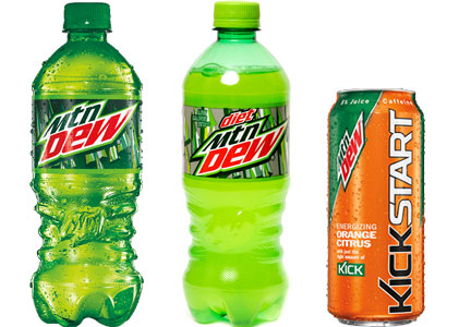 Mtn Dew products