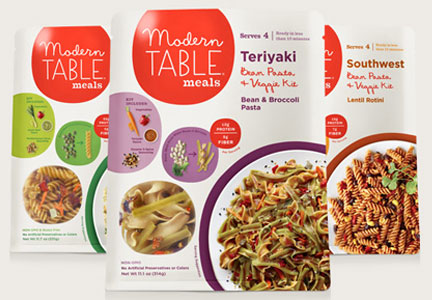 Modern Table S Meal Kits Are Gluten Free Non G M O And Vegetarian