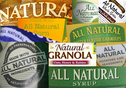 Natural food labels