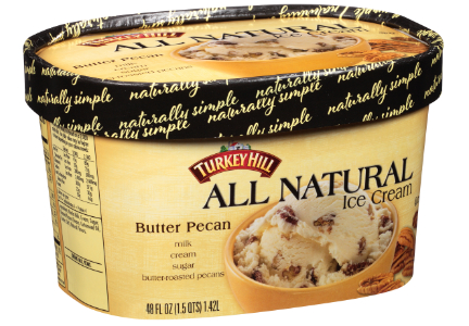 Turkey Hill natural ice cream