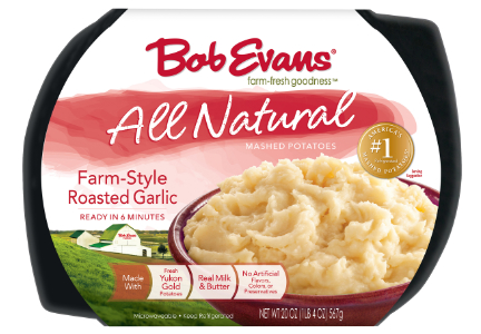 Bob Evans natural mashed potatoes