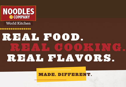 Noodles & Co. Made Different campaign