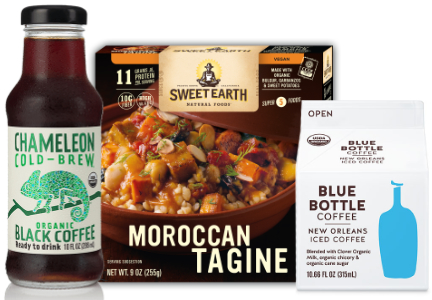 Nestle acquisitions - Chameleon Cold-Brew Coffee, Sweet Earth Foods, Blue Bottle Coffee