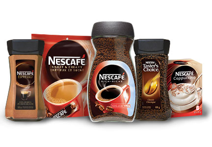 Nestle Nescafe coffee