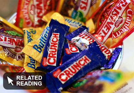 Nestle considering sale of U.S. confectionery business