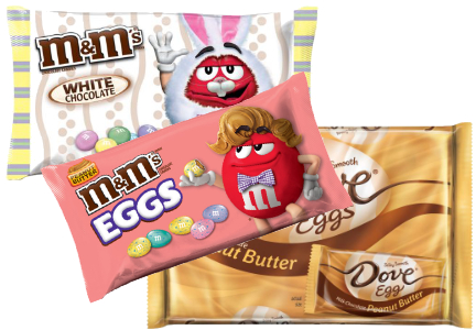 New Mars chocolate Easter products