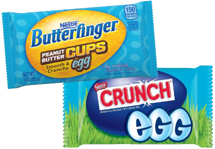 New Nestle chocolate Easter products