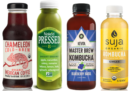 Cold-brew, cold pressed, fermented, H.P.P. beverages