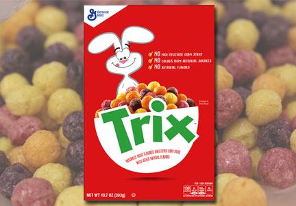 New Trix with no artificial colors