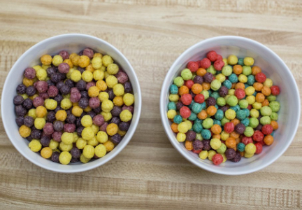 New vs. old Trix