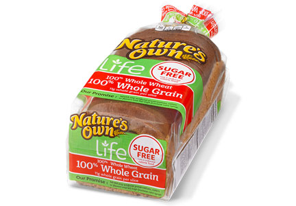 Nature's Own Life bread, sugar free