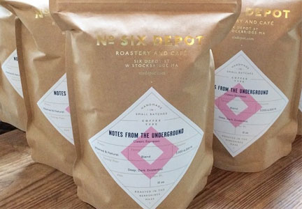 No. Six Depot Notes from the Underground espresso blend