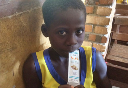 Nourishing Minds provides children in Ghana with nutrition