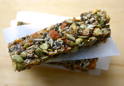 Nut and seed nutrition bars