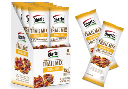Oberto original beef trail mix