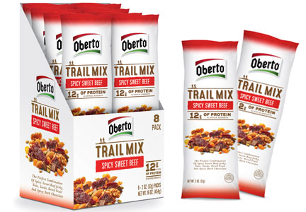 Oberto sweet and spicy trail mix