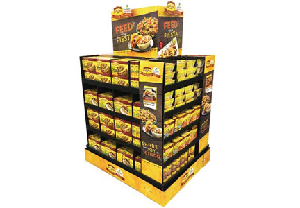 Old El Paso Feed Your Fiesta display